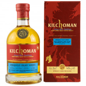 Kilchoman 2013/2020 - 6 Jahre Uniquely Islay Series 100% Islay Bourbon Single Cask No. 427/2013