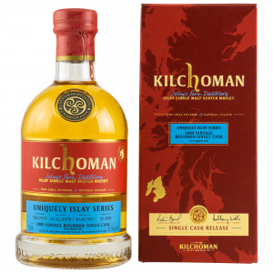 Kilchoman 2009/2020 - 10 Jahre Uniquely Islay Series Bourbon Single Cask No. 553/2009