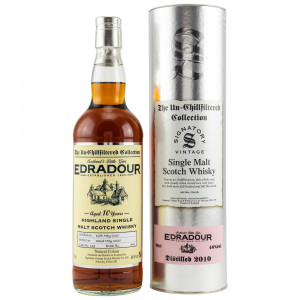 Edradour 2010/2020 - 10 Jahre Cask No. 119 (Signatory Un-Chillfiltered)
