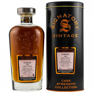 Clynelish 1995/2020 24 Jahre Cask No. 11229 (Signatory Cask Strength)
