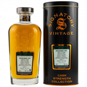 Inchgower 1997/2020 Casks No. 2 (Signatory Cask Strength Collection)