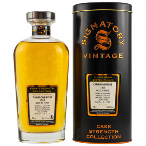Cameronbridge Single Grain Whisky 1984/2020 Cask No. 19298 (Signatory Cask Strength)