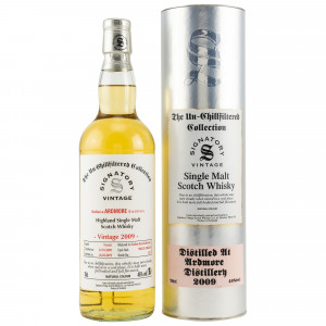 Ardmore 2009/2019 - 9 Jahre Casks No. 706252+706254 (Bourbon Barrels) (Signatory Un-Chillfiltered)