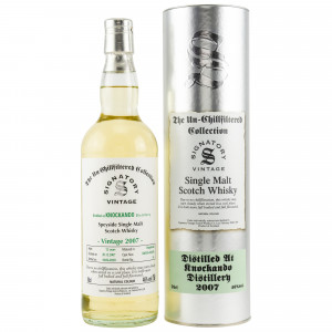 Knockando 2007/2020 - 12 Jahre Cask No. 304103+304105 (Signatory Un-Chillfiltered Collection)