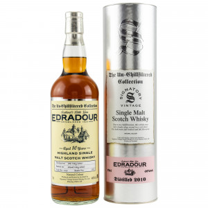 Edradour 2010/2020 - 10 Jahre Cask No. 117 (Signatory Un-Chillfiltered)