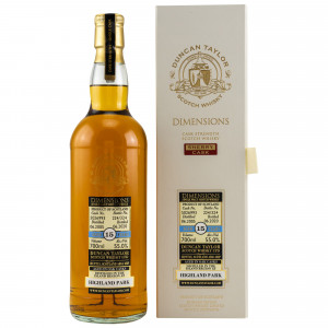 Highland Park 2005/2020 - 15 Jahre Dimensions Single Cask No. 5026993 (Duncan Taylor)