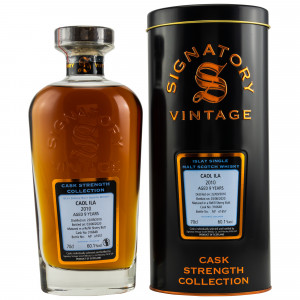 Caol Ila 2010/2020 9 Jahre Cask No. 316648 (Signatory Cask Strength Collection)