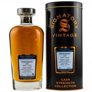 Bunnahabhain 2009/2020 11 Jahre 1st Fill Sherry Butt No. 900077 (Signatory Cask Strength Collection)