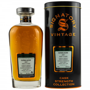 Glenallachie 2007/2020 - 12 Jahre First Fill Sherry Butt No. 900511 (Signatory Cask Strength Collection)