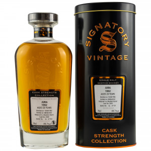 Isle of Jura 1992/2020 - 28 Jahre Bourbon Barrel No. 2509 (Signatory Cask Strength Collection)