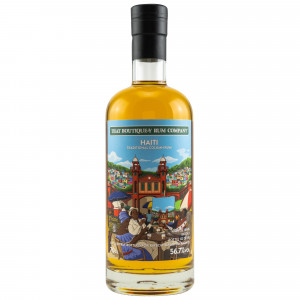 Haiti 16 Jahre Traditional Column Rum Batch 2 (That Boutique-y Rum Company) (Bottled for Kirsch Whisky)