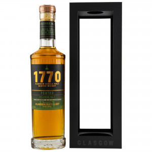 1770 Glasgow Single Malt Scotch Whisky Peated Release No. 1 (neue Ausstattung)