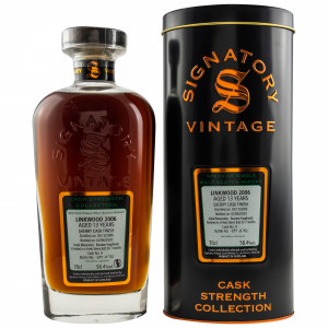 Linkwood 2006/2020 - 13 Jahre Cask Nr. 9 (Signatory Cask Strength Collection)