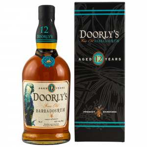 Doorly's 12 Jahre Fine Old Barbados Rum (43%)