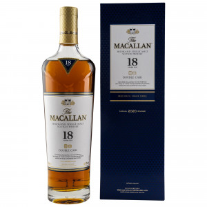 Macallan 18 Jahre Double Cask 2020 Release