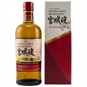 Nikka Miyagikyo Apple Brandy Wood Finish