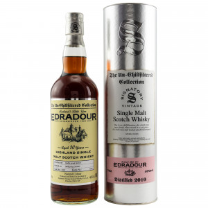 Edradour 2010/2020 - 10 Jahre Cask No. 155 (Signatory Un-Chillfiltered)