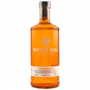 Whitley Neill Blood Orange Dry Gin