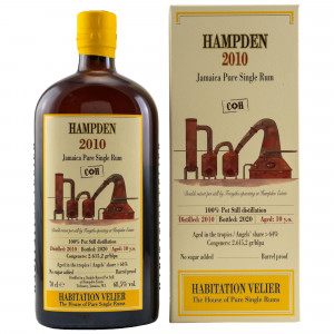 HAMPDEN 2010/2020 - 10 Jahre CH Jamaica Pure Single Rum (Habitation Velier)