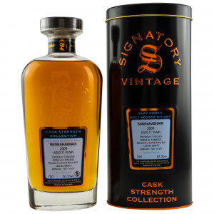 Bunnahabhain 2009/2020 - 11 Jahre 1st Fill Sherry Butt No. 900074 (Signatory Cask Strength Collection)