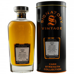 Ledaig 2007/2020 12 Jahre Cask No. 700556 (Signatory Cask Strength Collection)