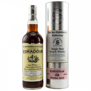 Edradour 2010/2020 - 10 Jahre Cask No. 159 (Signatory Un-Chillfiltered)