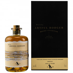 Secret Orkney 14 Jahre Single Cask No. 18 (Artful Dodger Whisky)