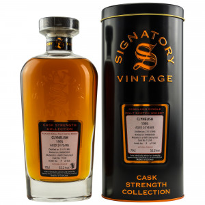 Clynelish 1995/2020 - 24 Jahre Refill Sherry Butt No. 11234 (Signatory Cask Strength)