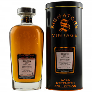 Deanston 2007/2020 - 13 Jahre 1st Fill Sherry Butt No. 900147 (Signatory Cask Strength)