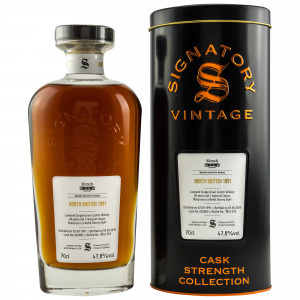 North British 1991/2020 - 28 Jahre Cask No. 262083 (Signatory Cask Strength)