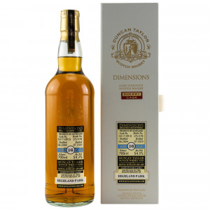 Highland Park 2004/2020 - 16 Jahre Single Cask 501710910 Dimensions (Duncan Taylor)