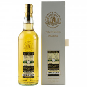 Linkwood 2009/2020 - 11 Jahre Single Cask 7636905 Dimensions (Duncan Taylor)