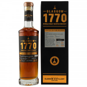 1770 Glasgow Single Sherry Butt Limited Edition Germany Exclusive