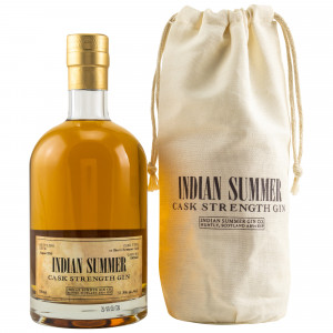 Indian Summer Cask Strength Gin Bowmore Sherry Cask No. G802447