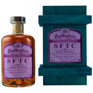 Ballechin 2007/2020 12 Jahre Bordeaux Cask No. 217 (SFTC)