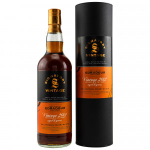 Edradour 2012/2020 - 8 Jahre Small Batch Edition #8 (Signatory Vintage)