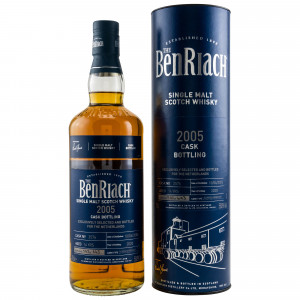 Benriach 2005/2020 Single Cask 2576 Oloroso Sherry Butt