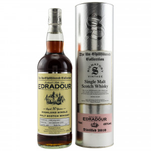 Edradour 2010/2020 - 10 Jahre Cask No. 184 (Signatory Un-Chillfiltered)