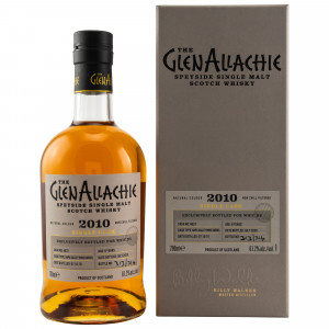 GlenAllachie 2010/2020 - 9 Jahre Napa Valley Wine Barrel No. 4637 bottled for whic
