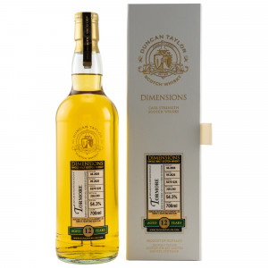 Tormore 2008/2020 - 12 Jahre Dimensions Single Cask No. 82701226 (Duncan Taylor)