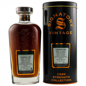 Linkwood 2006/2020 - 13 Jahre Cask No. 1 (Signatory Cask Strength Collection)