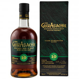 GlenAllachie 10 Jahre Cask Strength Batch 4