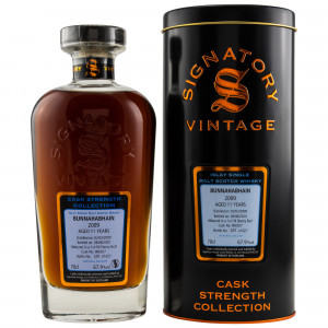 Bunnahabhain 2009/2020 - 11 Jahre 1st Fill Sherry Butt No. 900027 (Signatory Cask Strength Collection)