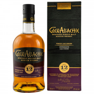GlenAllachie 12 Jahre Chinquapin Virgin Oak (Virgin Oak Series)
