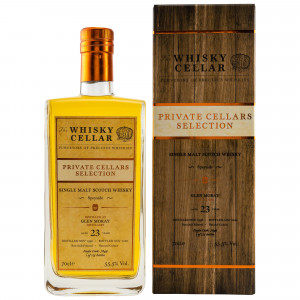 Glen Moray 1996/2020 - 23 Jahre Cask No. 7849 (The Whisky Cellar)