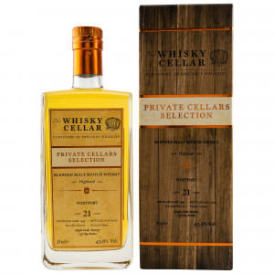 Westport 1999/2020 - 21 Jahre Blended Highland Malt Cask No. 800075 (The Whisky Cellar)