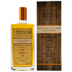 Invergordon 1996/2020 – 24 Jahre Single Cask No. 18278 (The Whisky Cellar)