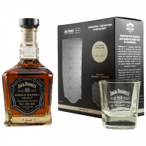Jack Daniels Single Barrel mit Tumbler