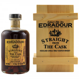 Edradour 2010/2020 10 Jahre Straight from the Cask Sherry Cask No. 167