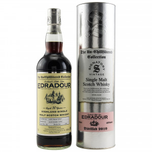 Edradour 2010/2020 - 10 Jahre Cask No. 52 (Signatory Un-Chillfiltered)